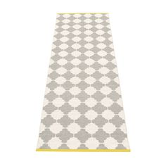 Marre Black & Vanilla with Coral Red Stripe Runner Rug