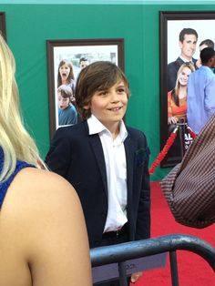 How adorable is Lincoln Melcher? He plays Philip Parker!