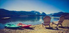 Sproat Lake Accommodations - BC Home and Condo Vacation Rentals Bc Home, Lake Hotel, Kayaks, Canopies, Vancouver Island, Mountain View, Vacation Rentals, British Columbia, Serenity