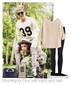 """Shooting For Four With Harry And Niall"" by hazzgirl03 ❤ liked on Polyvore"