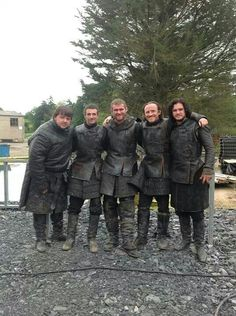 Calling all orphans, bastards, and criminals... The Black Crowes of the Night's Watch needs you!!!! (btw..this pic is adorable!)