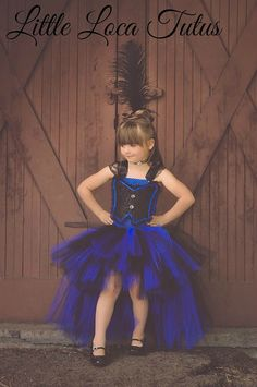 Saloon girl Tutu dress Halloween Can Can Bar by LittleLocaTutus, $55.00