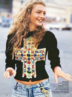 Carlyne Cerf de Dudzeele, the godmother of street, is a styling genius...