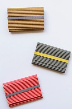 DIY: business card holders