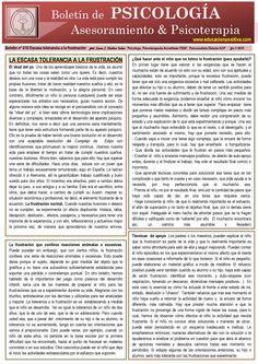 The child with low frustration tolerance (spanish) by Juan J. Ibáñez Solar  El niño con escasa tolerancia a la frsutración, por Juan J. Ibáñez Solar