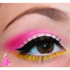 Disney Inspired Makeup : Rapunzel from Tangled - Luhivy's favorite... ❤ liked on Polyvore featuring beauty products and makeup