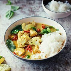 Curry z kurczakiem i kalafiorem - Przepis