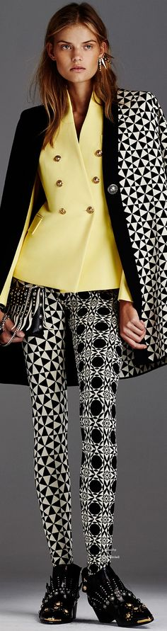 Fausto Puglisi Pre Spring 2016 collection women fashion outfit clothing style apparel @roressclothes closet ideas
