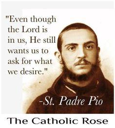 ~ St. Padre Pio...