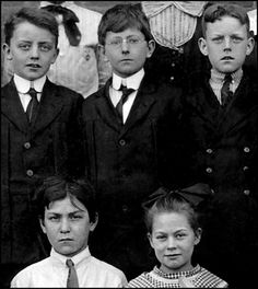 5th grade, Dayton, Ohio ~ 1913