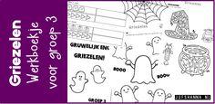 Dit werkboekje is helemaal in het thema 'griezelen'. Het boekje sluit goed aan bij het thema van de Kinderboekenweek van 2017. Klik hier voor het downloaden van het werkboekje. Gerelateerd