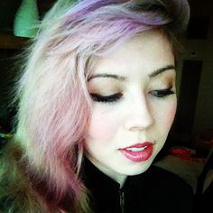 Jennette McCury Purple Hair PRETTY | OCEANUP TEEN GOSSIP