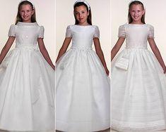 Vestido de Comunion - alta costura - www.ModistaenLasPalmas.n.nu