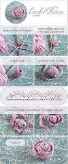 crochet rose tutorial | Flickr - Photo Sharing!