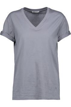 T BY ALEXANDER WANG Cotton-Jersey T-Shirt. #tbyalexanderwang #cloth #t-shirt