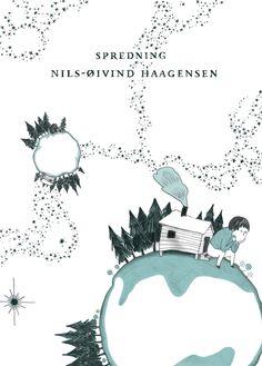 """Endelig i gang med N.-Ø. Haagensens """"Spredning""""."""