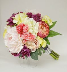 Whimsical Wedding Bouquet, High Quality Silk Bouquet, Whimsical Bouquet…