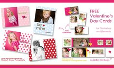 FREE Valentines Day Mini Cards and Accordion Book Templates