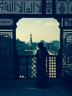 The biggest mosque in Cairo- Ibn Tulun