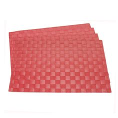 Jockey Red PP Placemat