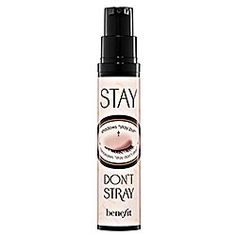This is really good.  It's called Stay, by Benefit, and you put it on your eyelids before you do eyeshadow and it makes it stay there.  It won't rub off until you wash your face.