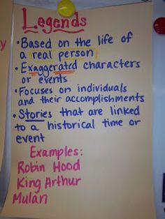 Legends My Life as a Third Grade Teacher
