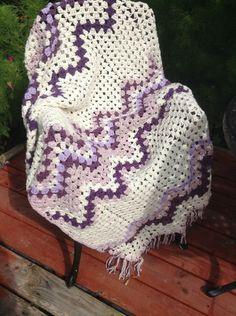 Chevron Blanket crochet