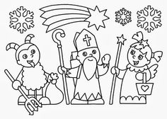 Vánoce – Sisa Stipa – Webová alba Picasa Christmas Crafts For Kids, Christmas Colors, Christmas Themes, Christmas Diy, Saint Nicolas, Paper Chains, Free Coloring Pages, Craft Activities, Christmas Inspiration