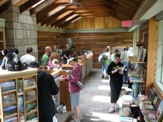 Clingman's Dome Visitor Information Center.  One of our newest locations -- and the highest!