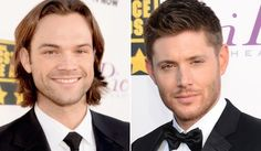 """Jensen Ackles and Jared Padalecki of """"Supernatural"""" were at the 2014 Critics' Choice Awards on Thursday (Jan. 16)."""