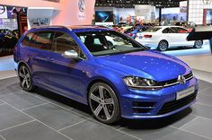 2015 Volkswagen Golf R Variant - a fast wagon from VW - Future mummy car; Volkswagen Golf Variant, Vw Golf Variant, Volkswagen Golf R, Best City Car, Vw Wagon, Vw Golf R, Old Mercedes, Kia Picanto, Sports Wagon