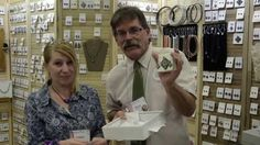 Quilted in Clay QuiltWeek Paducah Giveaway. Bruce gives away a piece of jewelry to a lucky winner at AQS QuiltWeek Paducah 2014!