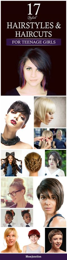if you are looking for some new & stylish hairstyles & haircuts for teenage girls, check out. They will make your teen daughter look beautiful & stylish in equal measure