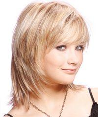 Medium Straight Casual hairstyle: Casual Medium Straight Hairstyle | TheHairStyler.com