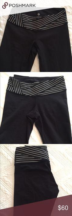 Lulu Lemon Wunder Under Leggings Women's size 6 Wunder Under skinny low rise leggings, minimal pilling lululemon athletica Pants Leggings