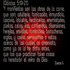 Gálatas 5:19-21
