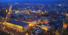 """willkommen-in-germany:  """" Kaiserslautern, Rheinland-Pfalz in Southwestern Germany. Its historic center dates back to the 9th century. It's home to about 100,000 people. In the city and Landkreis (county) live an additional 50,000 NATO military..."""