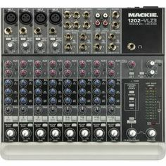 Mackie 1202-VLZ3 Compact Mixer. A little bigger for desktop.