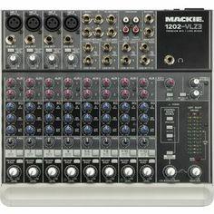 Mackie 1202-VLZ3 Compact Mixer. A little bigger for desktop.
