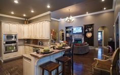 kitchen floor plans ranch | Ranch Style Homes - House Plans and More