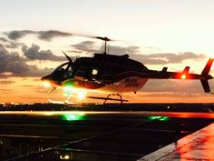 It's #TraumaTuesday! The team in the Smith Level I Shock Trauma Center at Eskenazi Health captured this cool photo while receiving a patient on the Eskenazi Health Heliport yesterday evening.