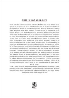 Paper Cut - This is not your life