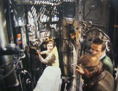 Irvin Kershner directs the love scene aboard The Millennium Falcon in Star Wars The Empire Strikes Back.