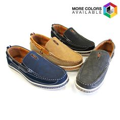 Men's Nautical-Inspired Casual Genuine Leather Slip-On Loafers - $24.99. https://www.tanga.com/deals/eea0e6111096/men-s-nautical-inspired-casual-genuine-leather-slip-on-loafers