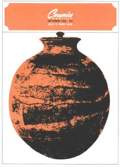 Ceramics Monthly September 1968 Issue Cover, On the Cover: Covered Jar by Tom Shafer