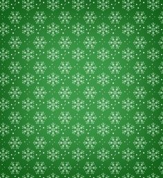 This free seamless holiday background is covered in snowflakes, and it comes in red and green styles.