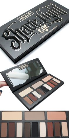 Kat Von D Shade + Light Eye Contour Palette Review, swatches, video and look