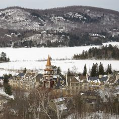 Mont Tremblant Village by Nichole Robertson Places In Europe, Places Around The World, Places To Travel, Places To See, Travel Destinations, O Canada, Canada Travel, Canada Pictures, Oui Oui