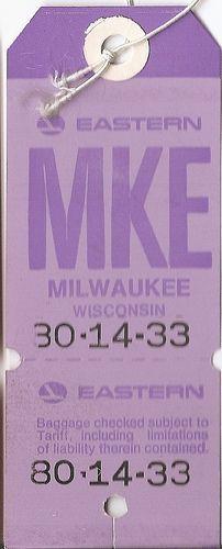 Eastern Airlines - MKE Milwaukee