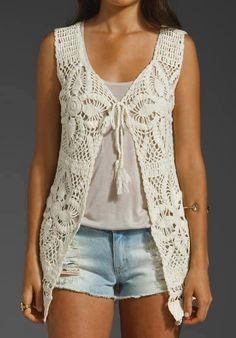 Captivating Crochet a Bodycon Dress Top Ideas. Dazzling Crochet a Bodycon Dress Top Ideas. Crochet Bodycon Dresses, Crochet Summer Dresses, Black Crochet Dress, Love Crochet, Crochet Yarn, Crochet Top, Gilet Crochet, Crochet Vest Pattern, Crochet Shirt